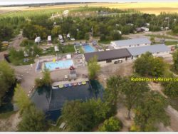 Aerial of Rubber Ducky Resort
