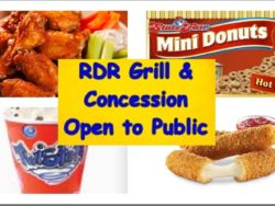 RDR Grill concession