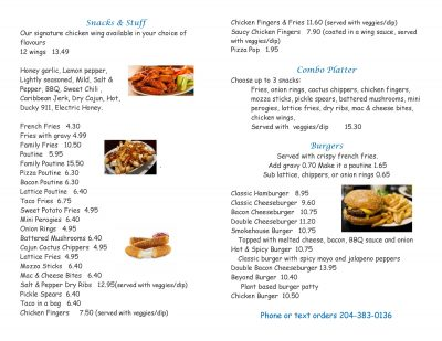 rdr grill menu rubber ducky resort