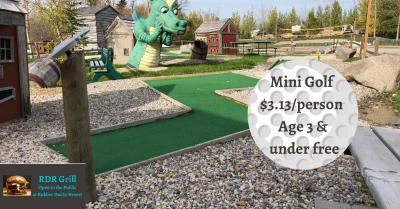 mini golf stonewall manitoba
